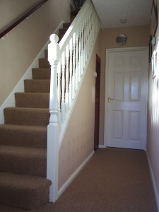 Holyfast after handrail fitted