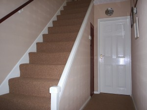 Holyfaste before handrail fitted